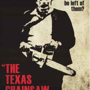 Leatherface TCM Poster